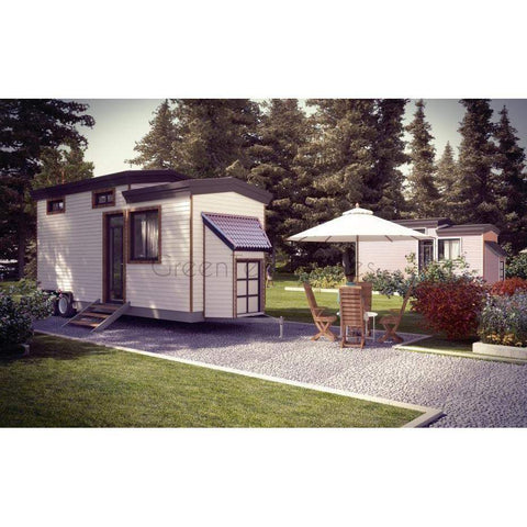 Tiny Home Framing Kit 8'x24' 1BR 1BA 192sf +106sf Loft Tiny House-Prefab Kit - Tiny Homes-BryanBaeumler-GreenTerraHomes