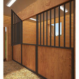 EQUESTRIAN HORSE BARN 6 STALL STABLE - THE CLYDESDALE STABLE BARN