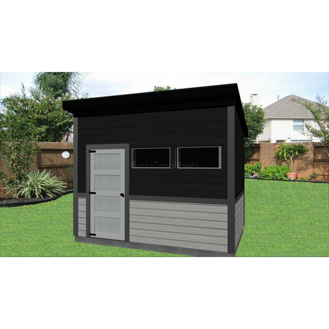 Steel garden sheds, Contemporary storage sheds, shed, lean to shed, sheds for sale-Sheds-BryanBaeumler-GreenTerraHomes