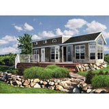 PARK MODEL COTTAGE 1BR 1BA 540SF THE DOVER FOUR SEASON STUDIO GUEST HOUSE-GreenTerraHomes