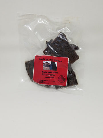 Smoked Maple Beef Jerky