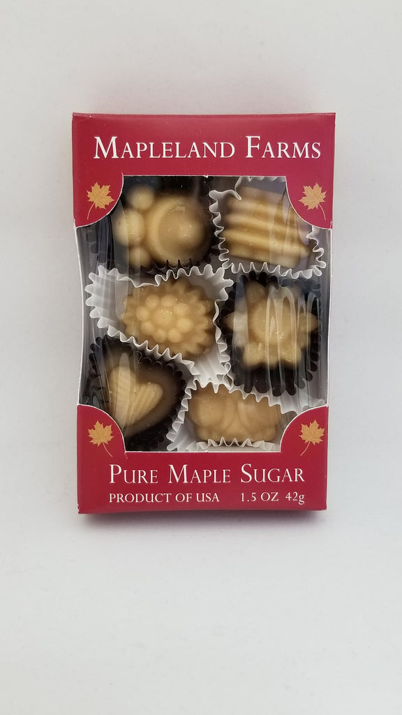 Maple Sugar 6 pc Box