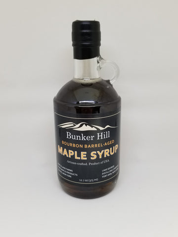 Bunker Hill Bourbon Barrel-Aged Pure Maple Syrup - front view