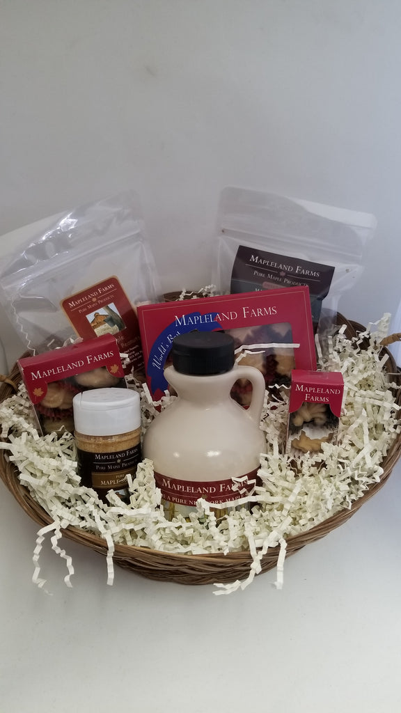 Assorted Maple Products Basket