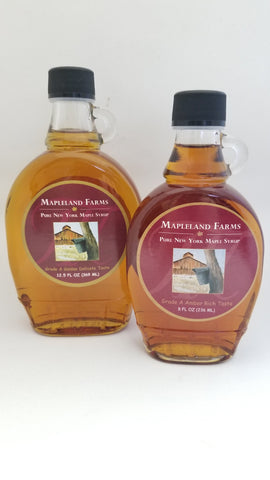Maple Syrup Glass with Handle