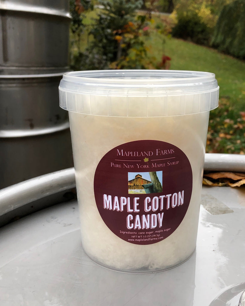 NEW! Maple Cotton Candy