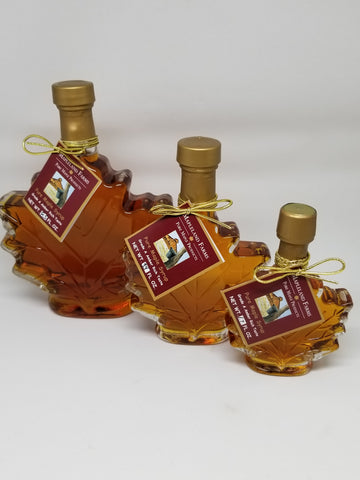 Maple Leaf Bottles - variety of sizes