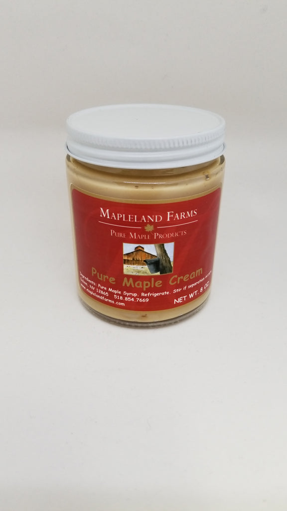 Mapleland Farms Maple Cream - View of large packaging