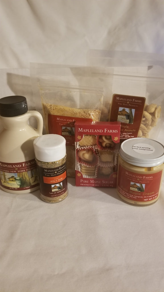 Maple Sampler Box