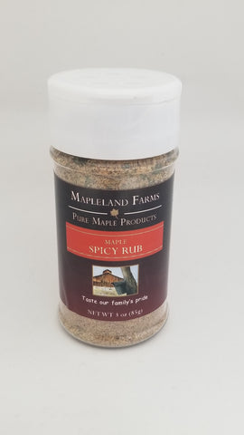Spicy Maple Rub