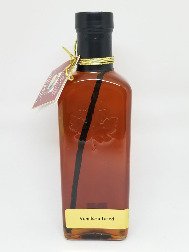 Mapleland Farms Vanilla Infused Maple Syrup Front View