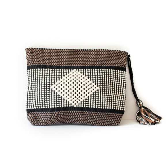 Diamond cotton pouch