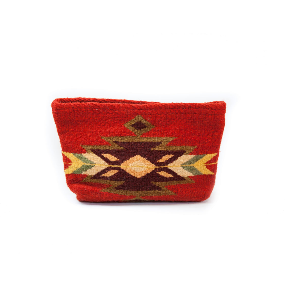 Blood Moon Wool Clutch