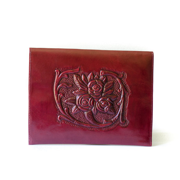 Analita Leather Clutch