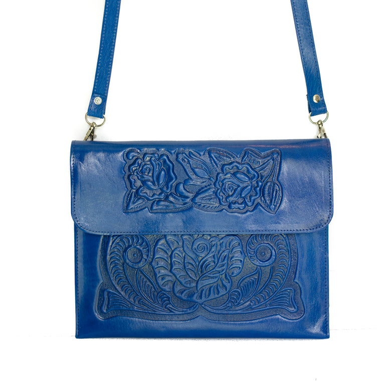 Analita Crossbody bag (Blue)