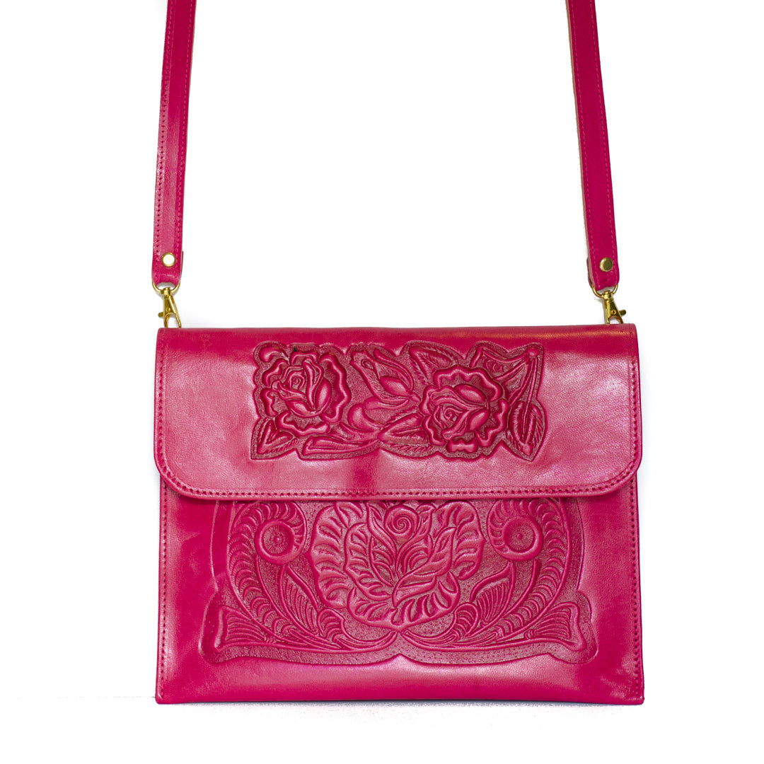 Analita Crossbody bag (Pink)