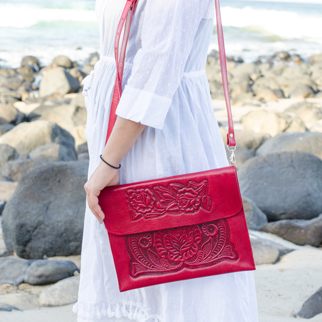 Analita Crossbody bag (Red)