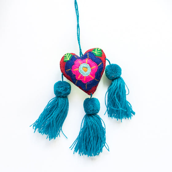 Mi corazón decorative heart