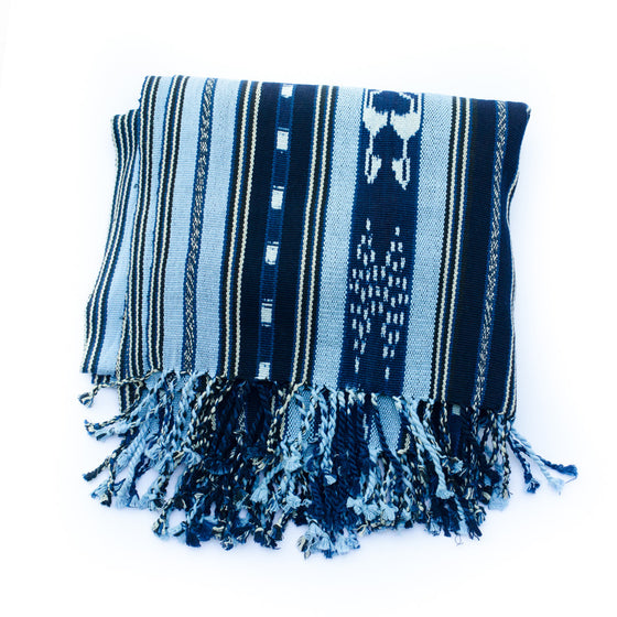 Handwoven Guatemalan blanket/throw