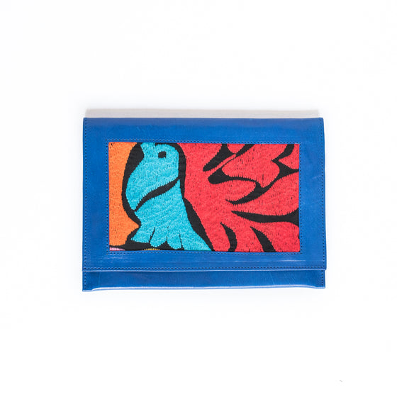 Pajaro Leather Clutch