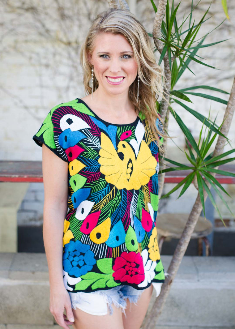 Pajaro blouse - multi