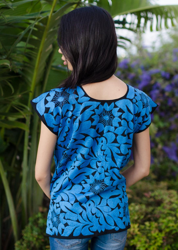 Pajaro blouse - blue