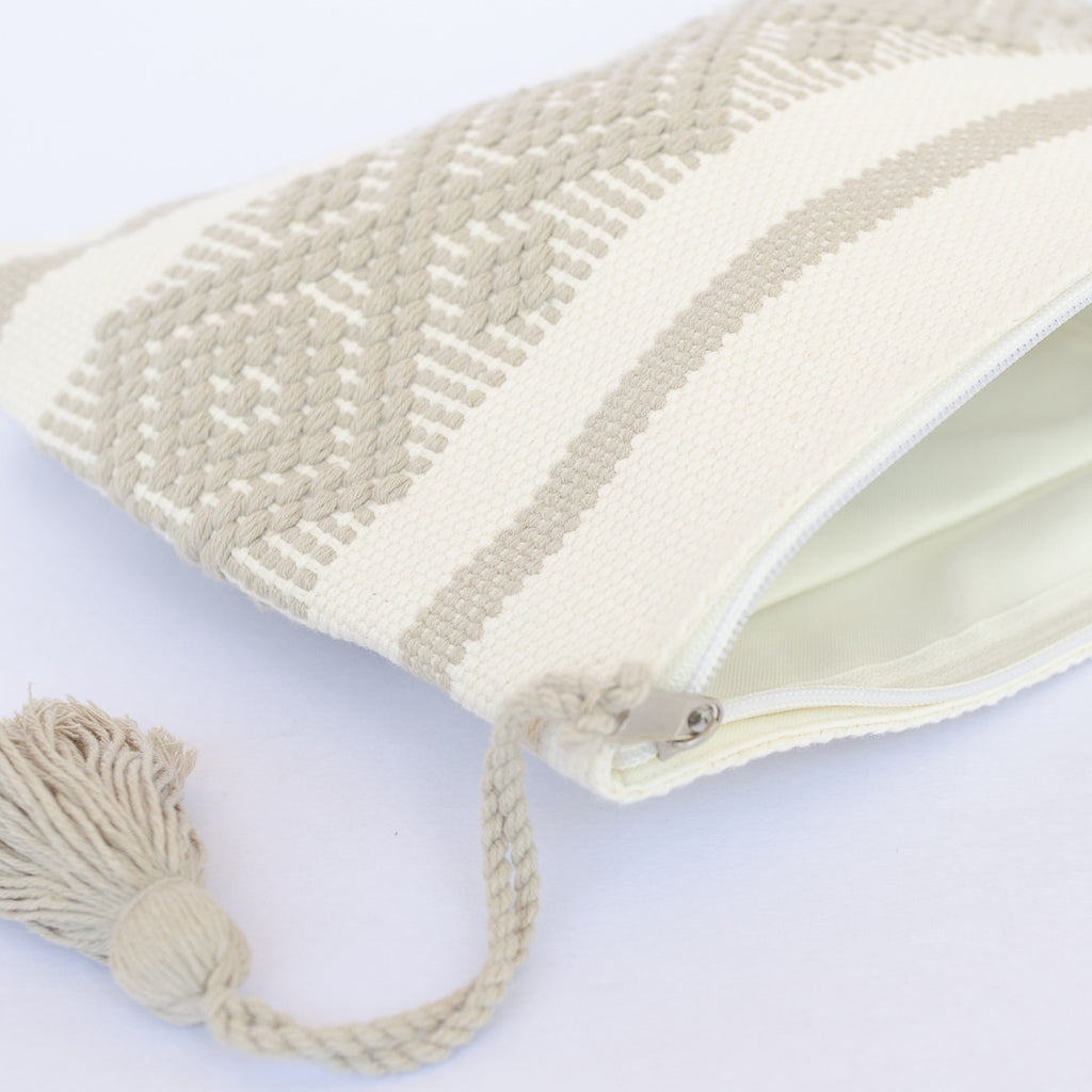 Handwoven cotton bag