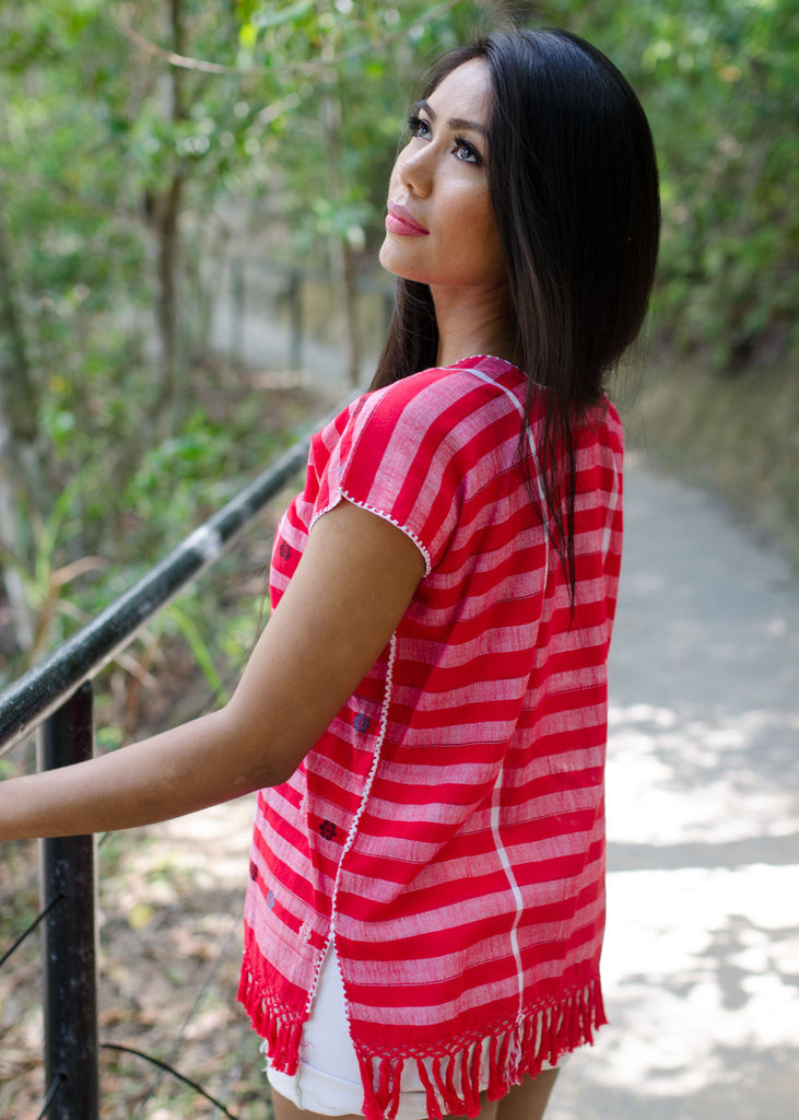 Chichi blouse - red