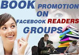 Facebook Blast- Post your book to 100 Facebook reader groups for (1 month) - Book Trailers for your books!