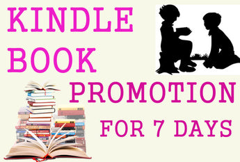 Kindle Book Promotion- for 7 days (1 week) - Book Trailers for your books!