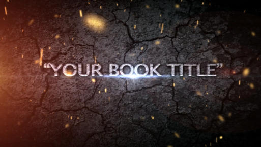Epic Title Plates- SPECIAL - Book Trailers for your books!