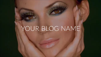 BEAUTY/FASHION BLOG - Book Trailers for your books!