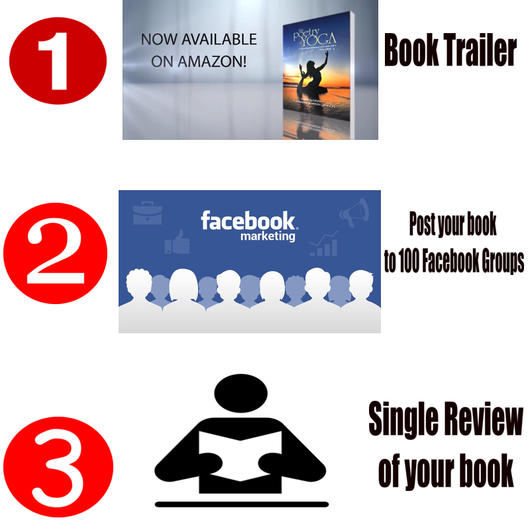 (Book Trailer + Book Review + Book Promotion) - Book Trailers for your books!