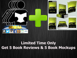 Five Review Package & Five Book Mockups (Limited Time Only) - Book Trailers for your books!