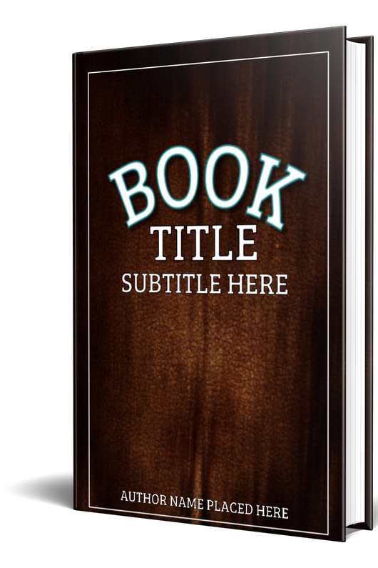 3-D BOOK COVER (HARD COVER) - Book Trailers for your books!