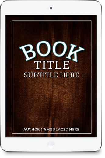 3-D BOOK COVER (IPAD) - Book Trailers for your books!