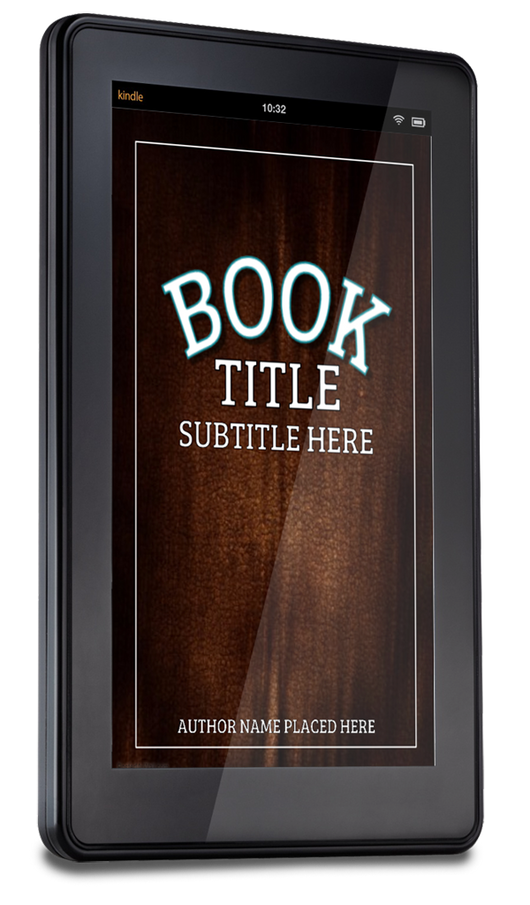3-D BOOK COVER (KINDLE) - Book Trailers for your books!