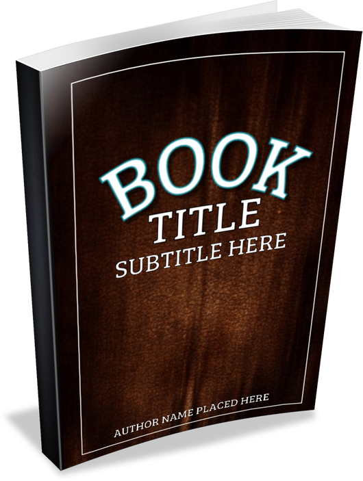 3-D BOOK COVER (PAPERBACK) - Book Trailers for your books!