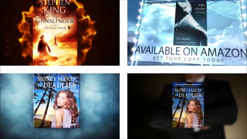 DEAL ENDING SOON! (Get all 4) for your book - Book Trailers for your books!