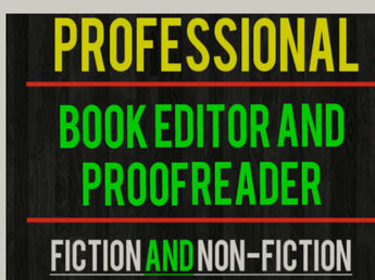 Book Editing - Book Trailers for your books!