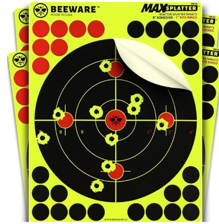 "BEEWARE - 8"" Splatter Target-Ace Two Tactical"