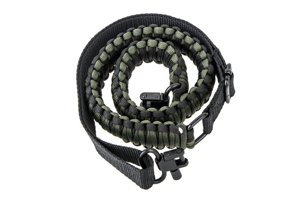Gun Sling - Army OD Green Paracord-Ace Two Tactical