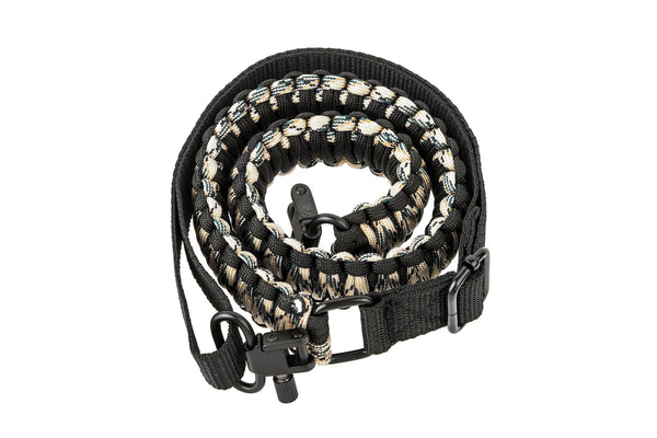 Gun Sling - Tan Camo Paracord-Ace Two Tactical