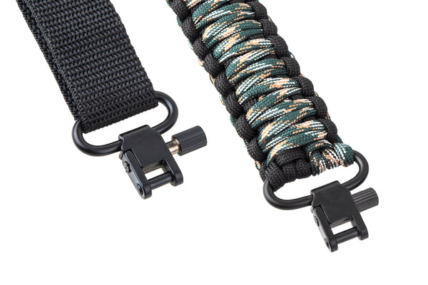 Gun Sling - Green Camo Paracord-Ace Two Tactical
