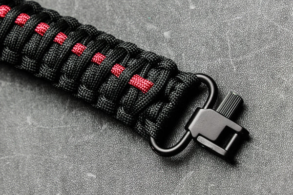 Gun Sling - Thin Red Line Paracord-Ace Two Tactical