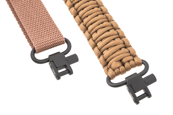 Gun Sling - All Brown Paracord-Ace Two Tactical