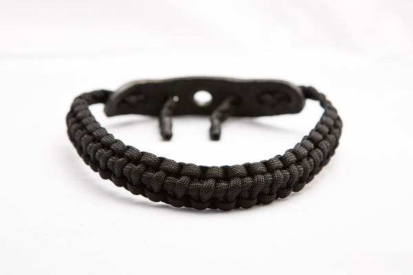 Bow Wrist Sling (All Black) Paracord-Ace Two Tactical