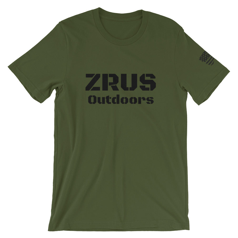 ZRUS Outdoors T-Shirt-Ace Two Tactical