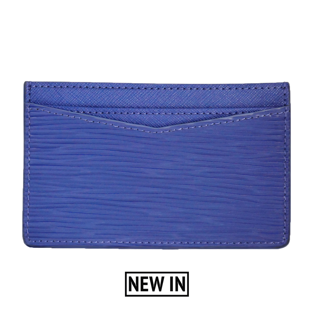 Royal Blue Card Holder