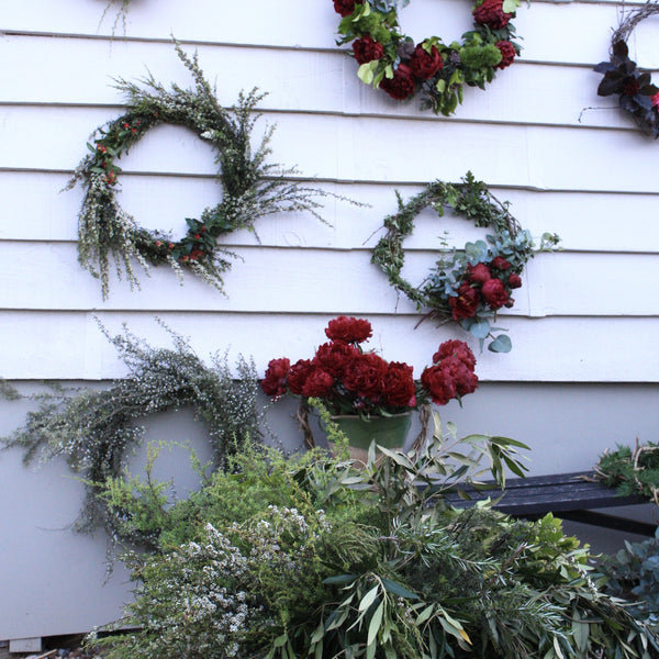 The Wildflower School - Christmas Wreath Workshops